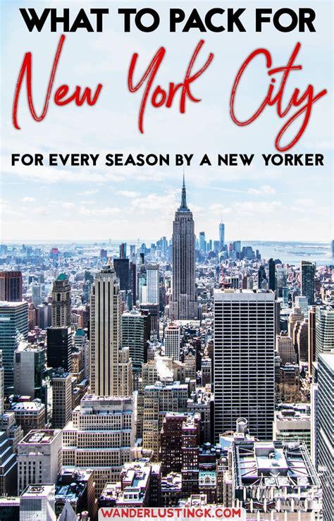 wear   york city   york city packing list