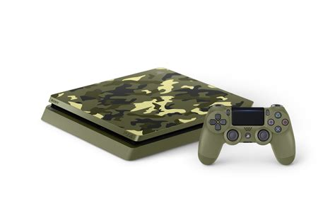 ps slim tb  wwii limited edition console bundle ps