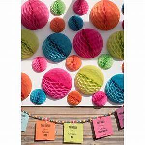 Boule Papier Deco : boule papier alv ol rouge 20 cm les 2 boule papier rouge d co ~ Teatrodelosmanantiales.com Idées de Décoration