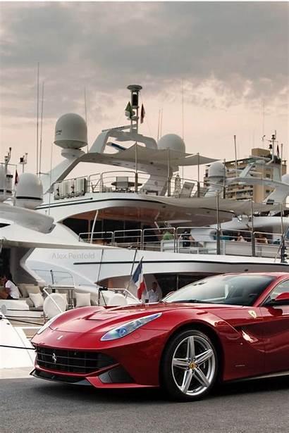 Luxury Ferrari Lifestyle Yacht Cars Wallpapers Rich