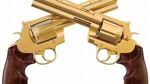 Top Best Gold Guns Wallpaper Wallpapers