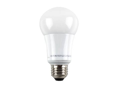 tcp dimmable 10 watt 5000k a 19 led bulb for