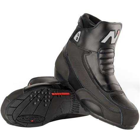 cruiser motorbike boots nitro nb 31 short leather cruiser street motorbike