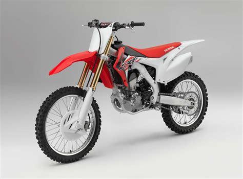 motocross bikes honda 2016 honda crf motocross bikes announced motorcycle com news