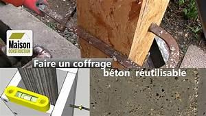 Comment Faire Du Beton : coffrage b ton r utilisable youtube ~ Melissatoandfro.com Idées de Décoration