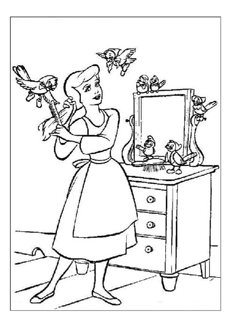 disney cartoon characters coloring pages part