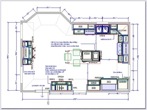 kitchen floor plans islands kitchen drafting service kitchen design plans