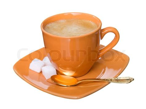 Noggin Coffee With Foam, Sugar And Tea-spoon On White Coffee Culture Hours Of Operation Opening Time Lompoc Quilts Alamo Galt Cambridge Scarborough