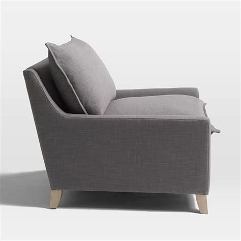 bliss filled chair and a half west elm
