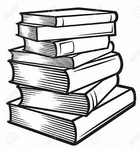 Stack of books clipart - Clipartix