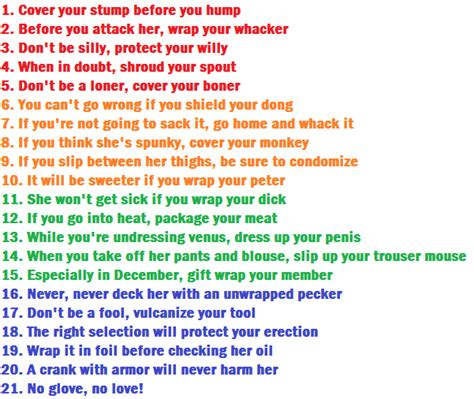 Condom Phrases 2013 Sayings Slogans Just B Cause