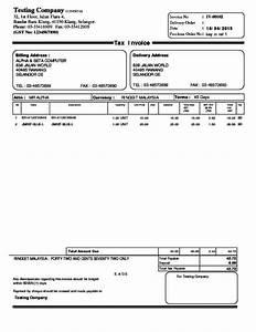 Alpine tech sales invoice for Sql invoice template