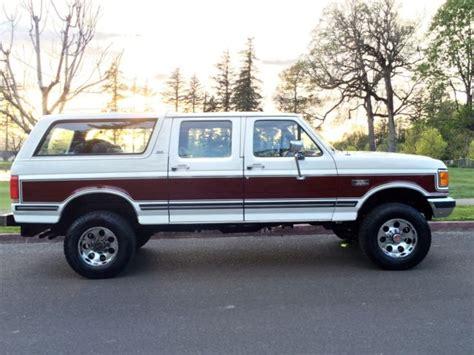 Ford Bronco Centurion Xlt Lariat Crewcab