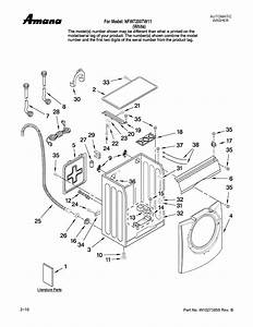 Amana Automatic Washer Parts