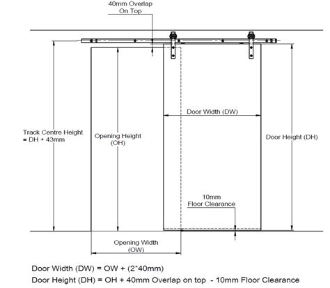 barn door dimensions lockwood outland sliding door track lockwood australia