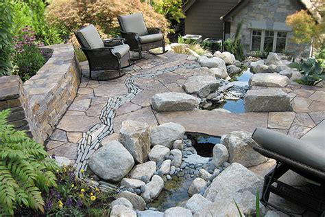 rock patio ideas stone patio ideas stone patio pictures houselogic backyard ideas