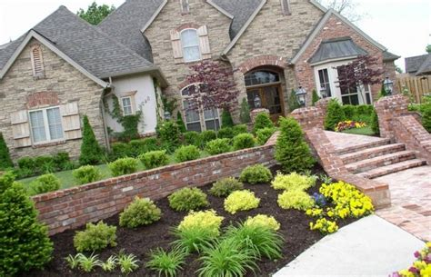 Landscaping Ideas For Front Yard On A Hill-garden Design