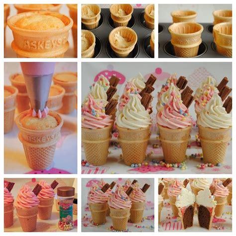 diy treat ideas wonderful diy ice cream cone cupcakes birthday party treats diy ice cream and cone cupcakes