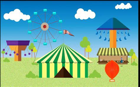 Dibujos de la feria de abril. La Feria....ilustración animada, en Adobe Illustrator, After Efects y Camtasia Studio ...