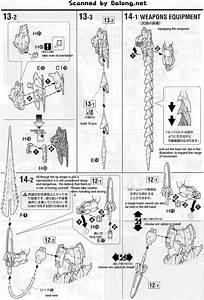 Mg Gundam Epyon English Manual  U0026 Color Guide