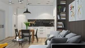 amenager et decorer un appartement de moins de 50m2 With comment meubler un petit studio 16 tout pour votre chambre mansardee en photos et videos