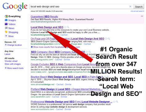 Seo Results by Local Business Seo Results