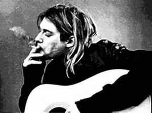 Kurt Cobain Black And White | www.imgkid.com - The Image ...