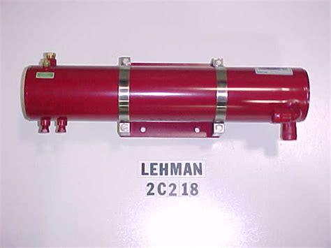 sk leh  cn lehman heat exchanger rear mount