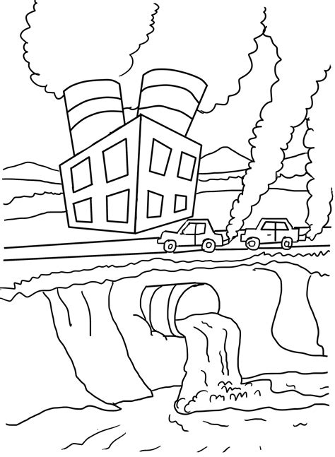 ecology coloring pages    print