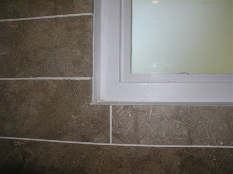 waterproof shower window waterproofing a shower window tiling ceramics marble