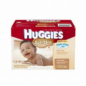 Huggies Soft Skin Baby Wipes, 448 ct for $8.59 Shipped ...