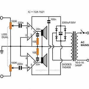 Tda 810 Streo Amplifiers Circuit