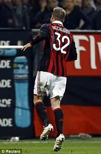 David Beckham: Achilles injury in AC Milan win wrecks ...