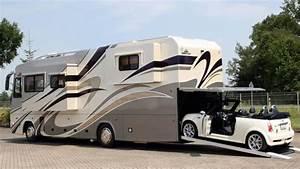 Prix D Un Bus : vario alkoven 1200 le camping car qui peut transporter une voiture ~ Medecine-chirurgie-esthetiques.com Avis de Voitures