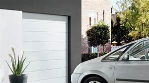 porte de garage sectionnelle avec porte blindee fichet With porte de garage sectionnelle jumelé avec fichet porte blindée