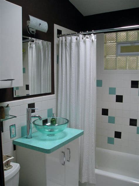 Modern Bathroom Tile Colors by 35 Best Images About Midcentury Modern Bathrooms On