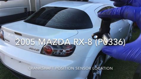 How to replace crankshaft position sensor on a 2005 Mazda ...