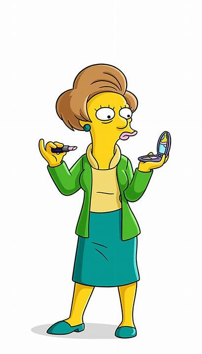 Simpsons Krabappel Characters Simpson Edna Character Bart