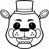Freddy Coloring Pages Toy Fazbear Colouring Draw Nights Five Golden Easy Freddie Step Freddys Mangle Fnaf Chica Characters Drawing Bonnie sketch template