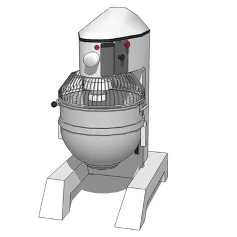 Comm Kitchen Mixer 3d Model  Formfonts 3d Models & Textures