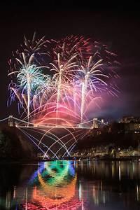 Clifton Suspension Bridge 150th Anniversary Fireworks