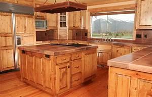 Pine kitchen cabinets: original rustic style Kitchens