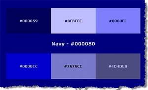 Html Color Codes Blue images