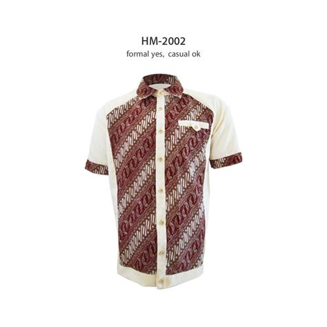 formal casual shirt kemejabatikmedogh http medogh baju batik pria kemeja batik pria