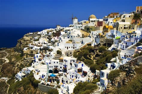 Santorini History Pictures Map And Location Aegean Sea