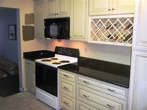Uba Tuba Granite goes great with White Cabinets