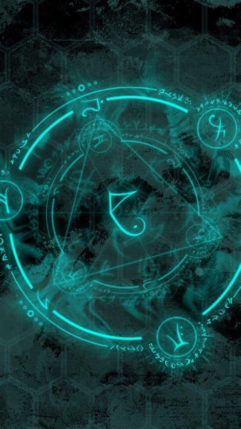 Blue Magical Wallpaper Hd by Neon Genesis Evangelion Arcane Blue Circles Magic