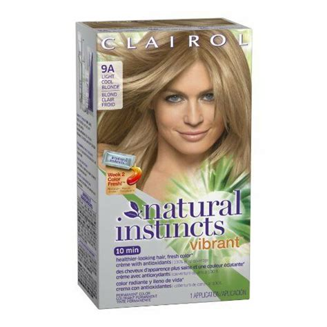 clairol natural instincts vibrant hair color light cool