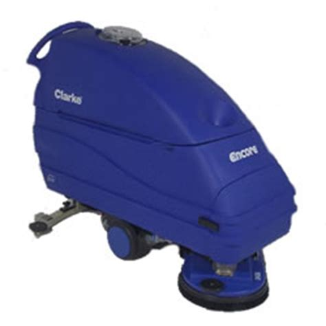 clarke encore l2426 battery powered walk behind automatic