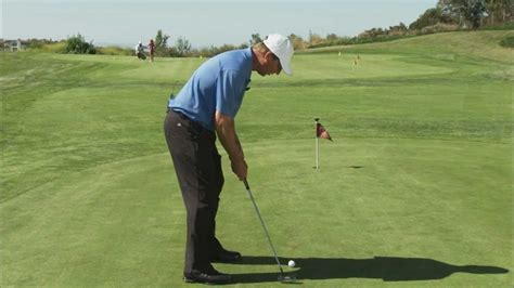 Golf Putting Grip How To Hold Your Golf Arms At Address When Putting Youtube